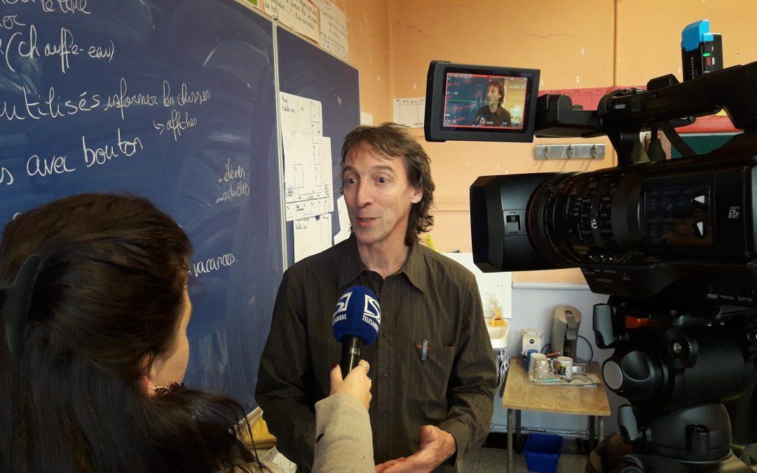 Dans  7 sur 7, Xavier Desgain décrit les projets écologiques de Charleroi