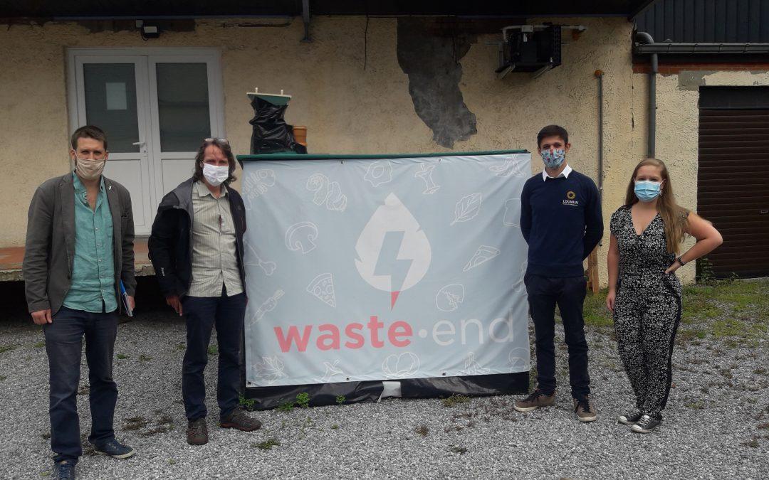 Xavier Desgain rencontre Waste-End, une start-up qui a parié sur la bio méthanisation